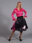 Rock mit Petticoat  50`s  60`s  Mottoparty  Fasching