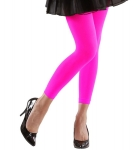 Leggings neon pink 80er Jahre Mode Hit Aerobic